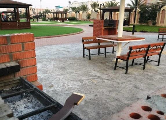 أماكن الشواء في حديقة الفيصلية في الطائف