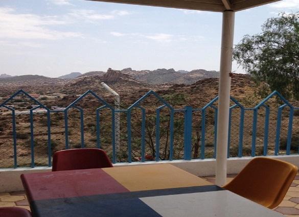 مطاعم متنزه الحدبان في الطائف