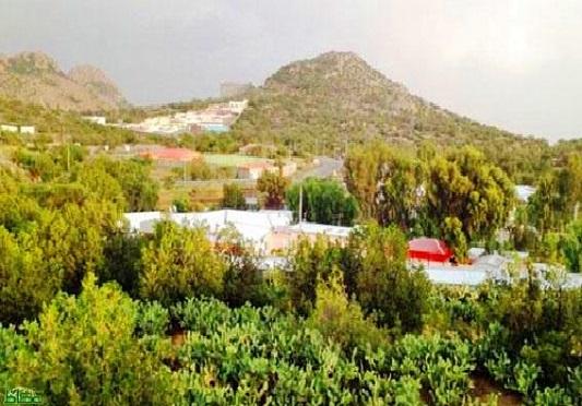 التخييم في قرية الشفا في الطائف