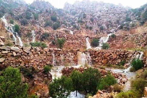مشهد من قرية الشفا في الطائف سياحة