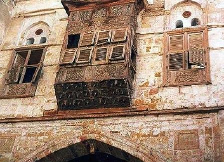 مباني العصر المملوكي في باب الحزم في الطائف
