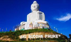 تمثال بوذا العملاق بوكيت بتايلاند