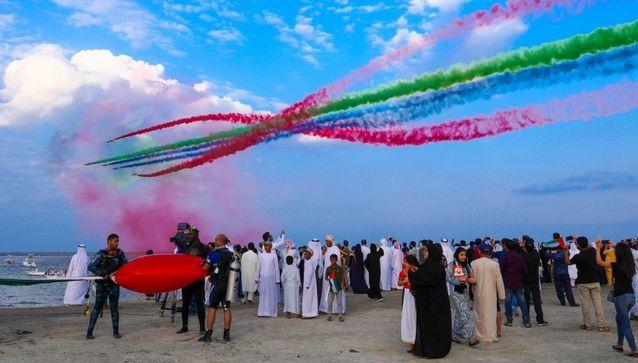 ساحة مصارعة الثيران في الامارات الفجيرة