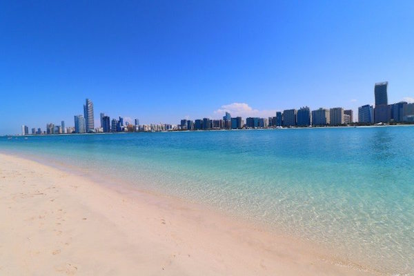 شاطئ البطين بأبو ظبي
