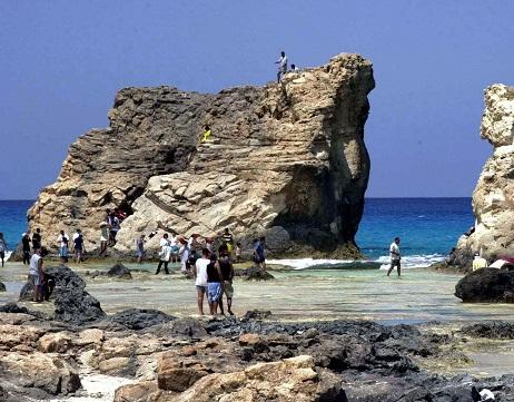 جولة في شاطئ كليوباترا في مرسى مطروح