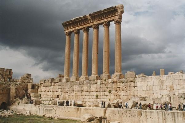 بعلبك من اهم اماكن سياحية في لبنان