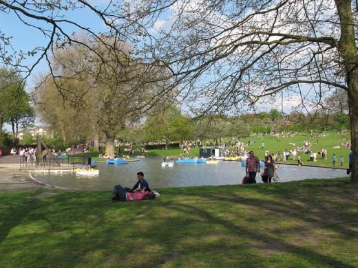 حديقة غرينتش بلندن
