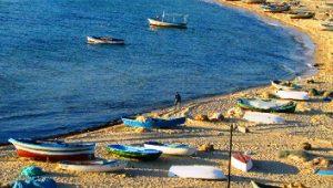 شاطئ الحمامات تونس