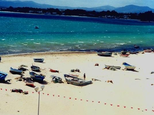 قوارب شاطئ الحمامات