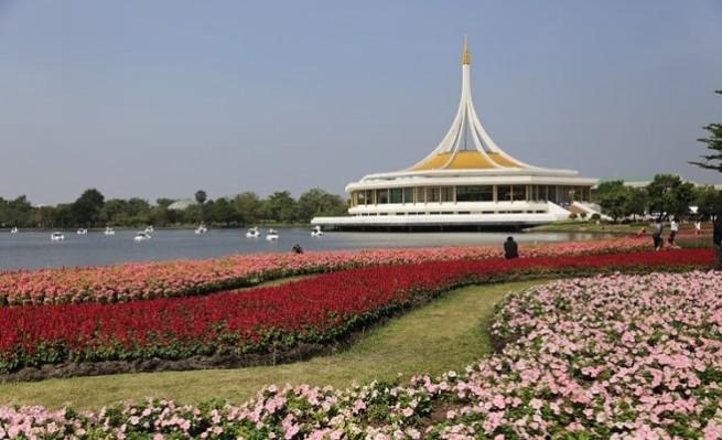 حديقة الملك راما التاسع بانكوك
