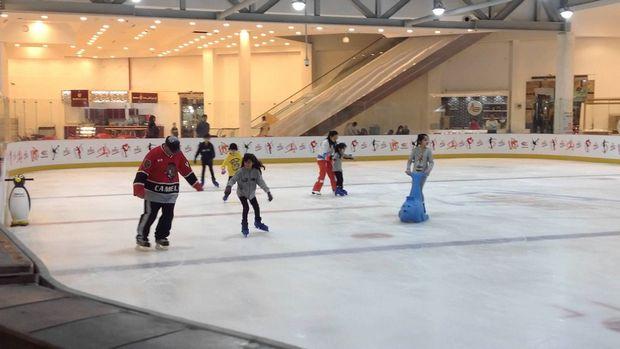 صالة التزلج بالكويت