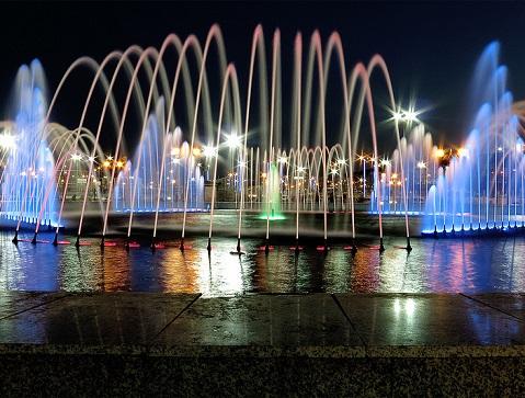 نافورة متنزه الملك عبدالله في الطائف