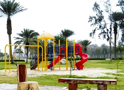 ملاعب الأطفال في متنزه الملك عبدالله في الطائف