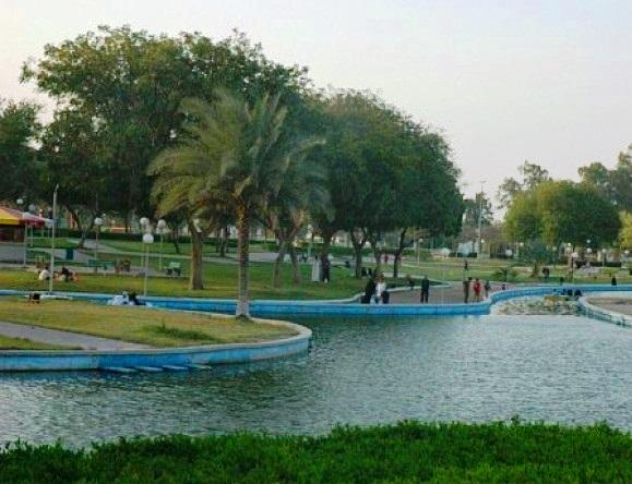 بحيرة متنزه الملك فهد في الطائف