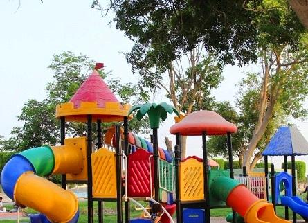 ملاعب الأطفال في متنزه الملك فهد في الطائف