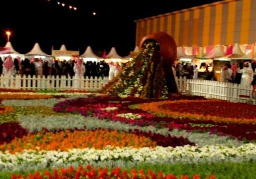 مهرجانات الزهور في حديقة الملك فيصل في الطائف