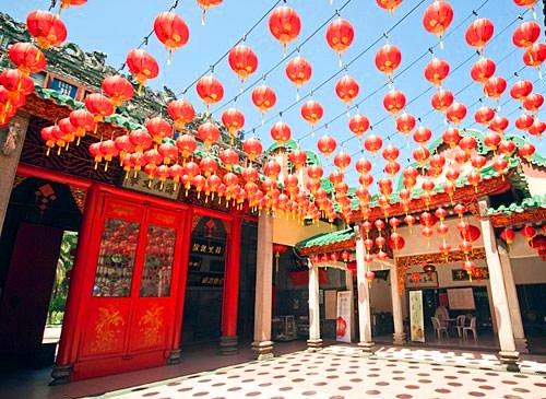 معبد تشان سيشو يوين في الحي الصيني في كولالمبور