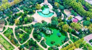 منتزه سيوتاديلا في برشلونة إسبانيا