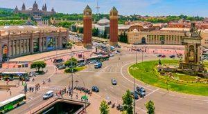 ساحة اسبانيا برشلونة