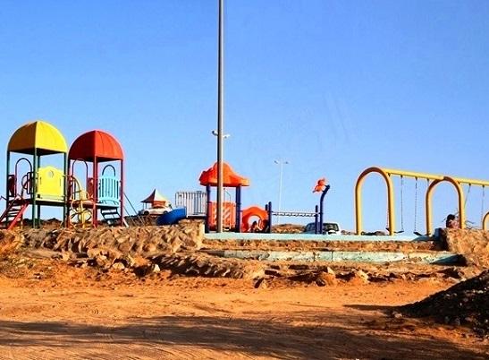 ملاعب الأطفال في متنزه سيسد الوطني في الطائف