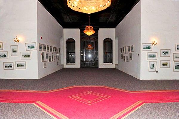 قاعة تاريخ المملكة في متحف قصر شبرا في الطائف