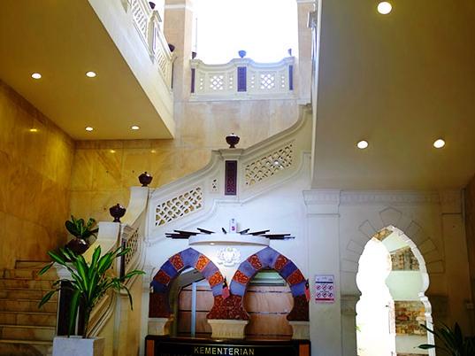 القاعة الرئيسة في مبنى السلطان عبدالصمد في كوالالمبور