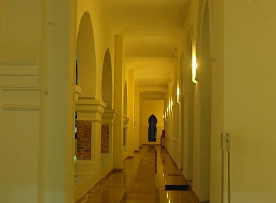 ممرات مبنى السلطان عبدالصمد في كوالالمبور