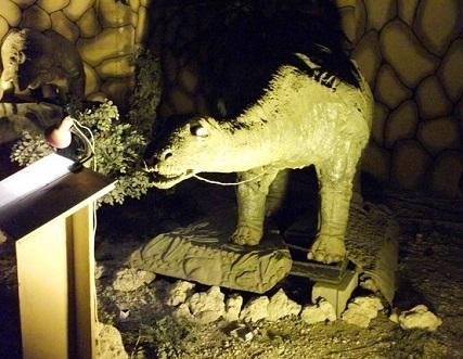 قاعة الديناصورات في حديقة حيوانات الطائف