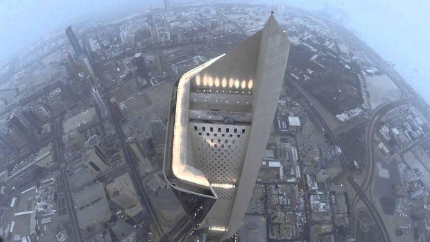برج الحمراء بالكويت Al Hamra Tower, Kuwait