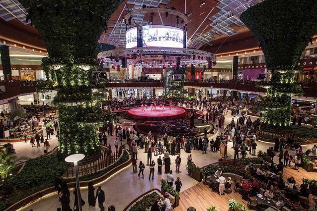 المولات في قطر الدوحة