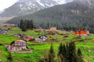 قرية و وادي شات في ريزا