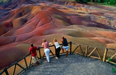 أرض السبعة ألوان - موريشيوس