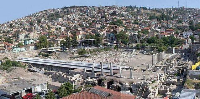 متحف اغورا احدى اهم اماكن السياحه في ازمير تركيا