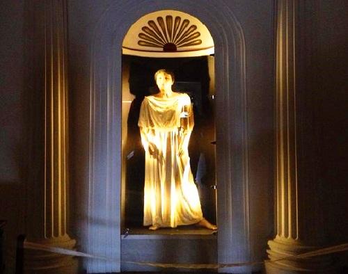 قاعة قبر أميرة كاريان في قلعة بودروم