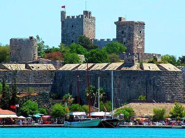 مشهد لقلعة بودروم