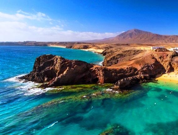 شاطئ باباغايو في جزر الكناري