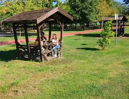 مظلات حديقة الشرق في سامسون