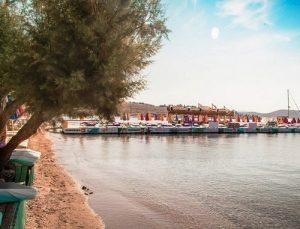 جولة حول شاطئ فينك في بودروم