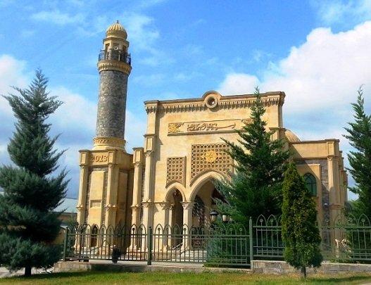 المسجد الجديد في اذربيجان غابالا