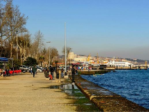 جولة في منطقة كاباتاش من افضل المناطق في اسطنبول