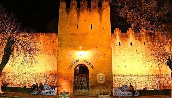 القصبة من اهم الاماكن السياحية في شفشاون المغربية