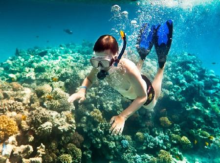 رياضة الغوص في جزيرة بايار في لنكاوي