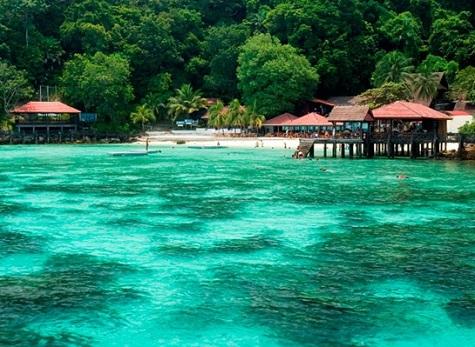 مشهد من جزيرة بايار في لنكاوي