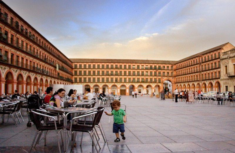 ساحة كوريديرا قرطبة من اهم معالم السياحة في مدينة قرطبة الاسبانية