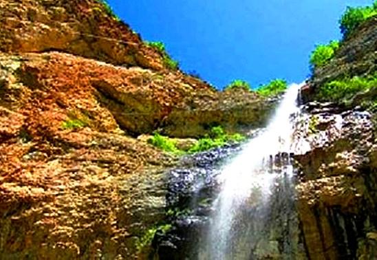 شلالات أفوردزي في مقاطعة قوبا
