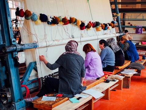 ورشة قاديم في مدينة قوبا أذربيجان