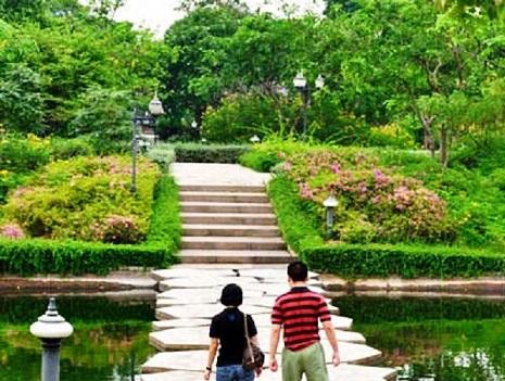 مسارات أفضل 7 أنشطة في حديقة الملكة سيريكيت النباتية في شنغماي تايلاند