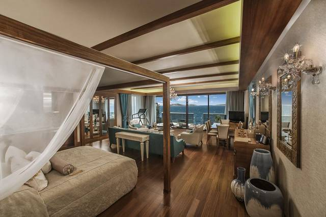 فندق جميرا هو افضل منتجع في بودروم تركيا