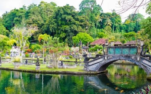 قرية وحديقة تيرتا جانجا في بالي
