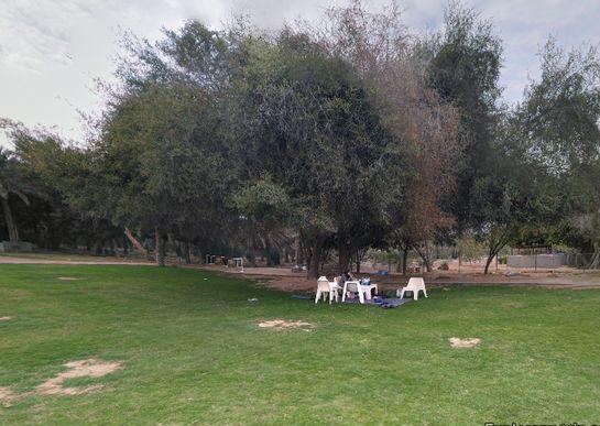 حديقة عين مضب الكبريتية في الامارات الفجيرة
